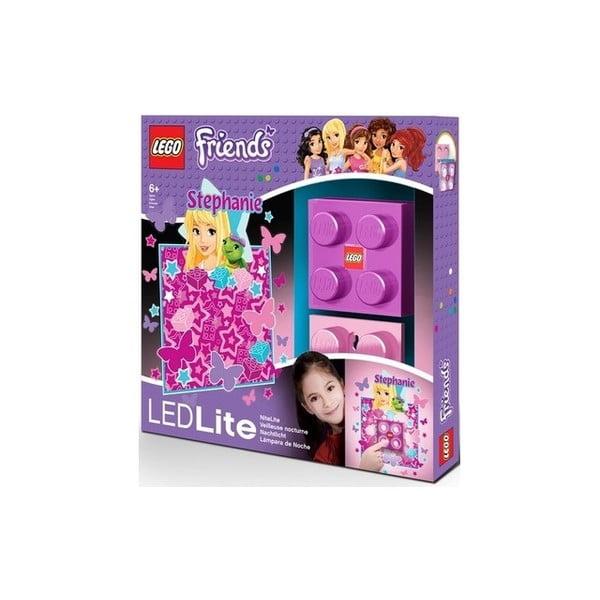 Detské nočné svetlo LEGO Friends Stephanie