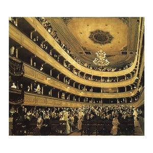 Obraz Gustav Klimt - Auditorium in the Old Burgtheater, 45x50 cm