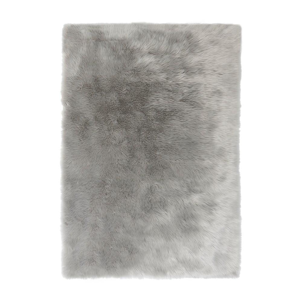 Sivý koberec Flair Rugs Sheepskin, 120 × 170 cm