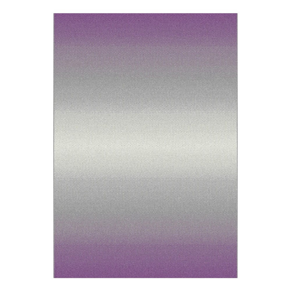 Sivo-fialový koberec Universal Boras, 133 × 190 cm