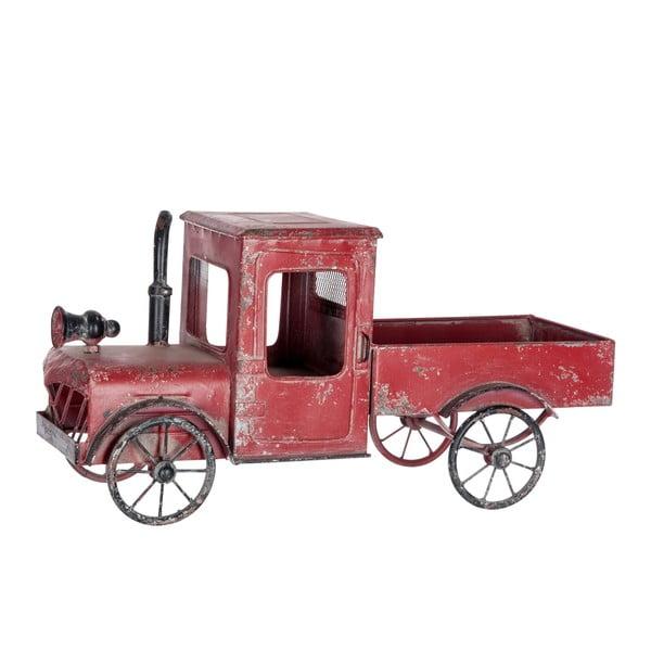 Dekorácia Car Antique, červená