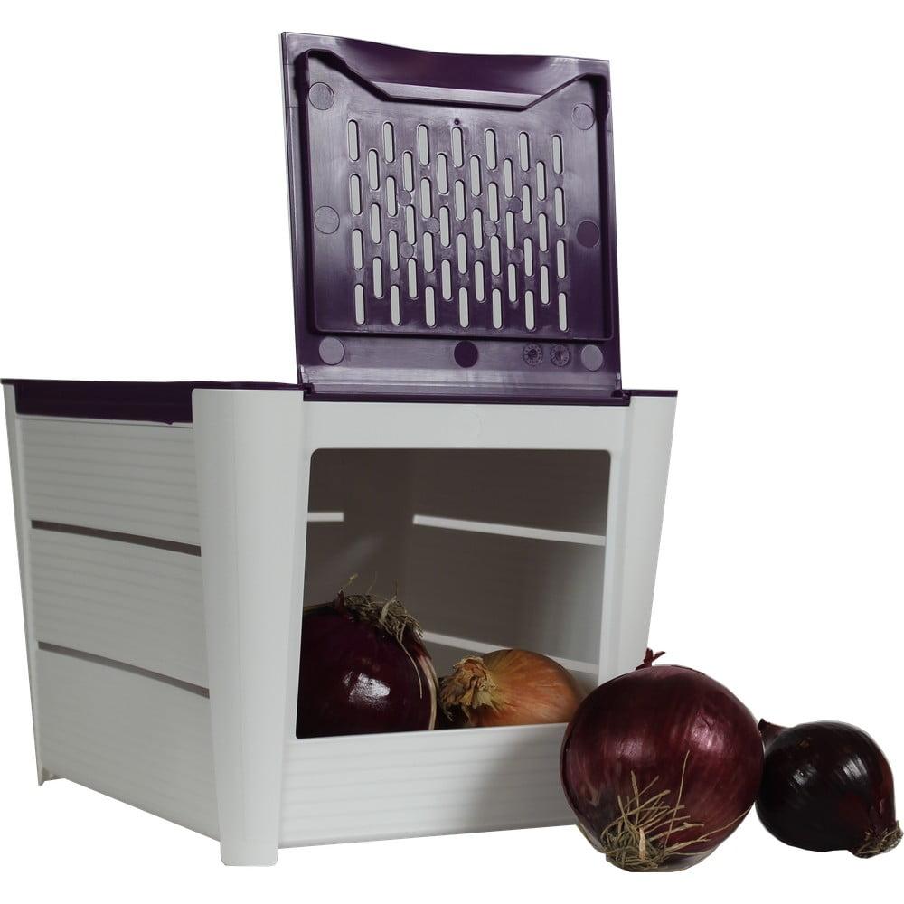 Box s vetracími otvormi na cibuľu a ďalšiu zeleninu Snips
