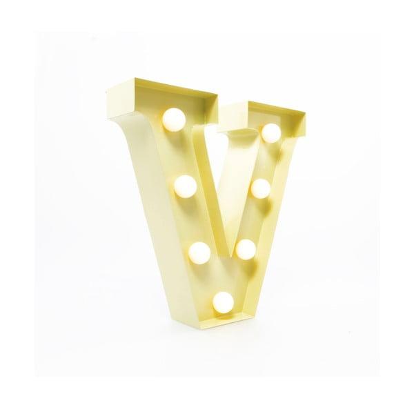Dekoratívne svetlo Carnival V, vanilkové