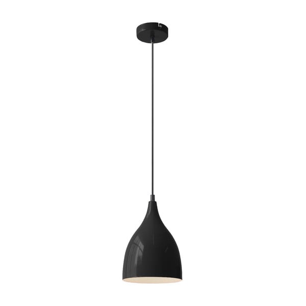 Čierne stropné svietidlo Lucinda Black