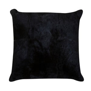 Tmavohnedý vankúš z králičej kože Pipsa Fillo, 40×40 cm