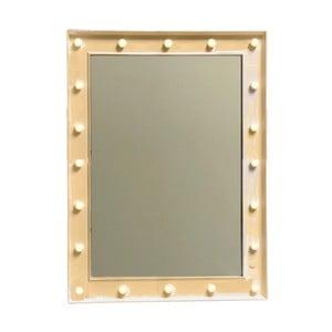 Zrkadlo v ráme v zlatej farbe Maiko Oro, 60 x 80 cm
