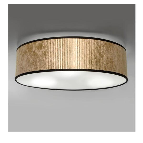 Stropné svietidlo v zlatej farbe Bulb Attack Tres, Ø 40 cm
