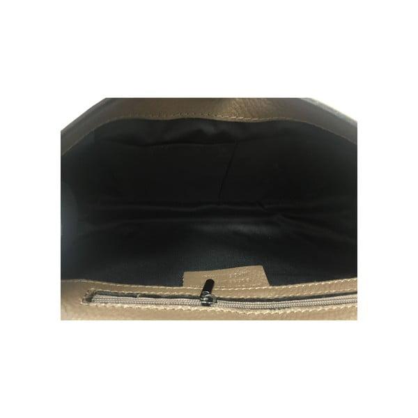Kožená kabelka Naja Taupe