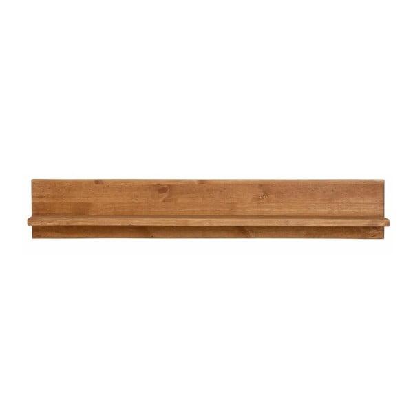 Nástenná polička z masívneho borovicového dreva Støraa Salento