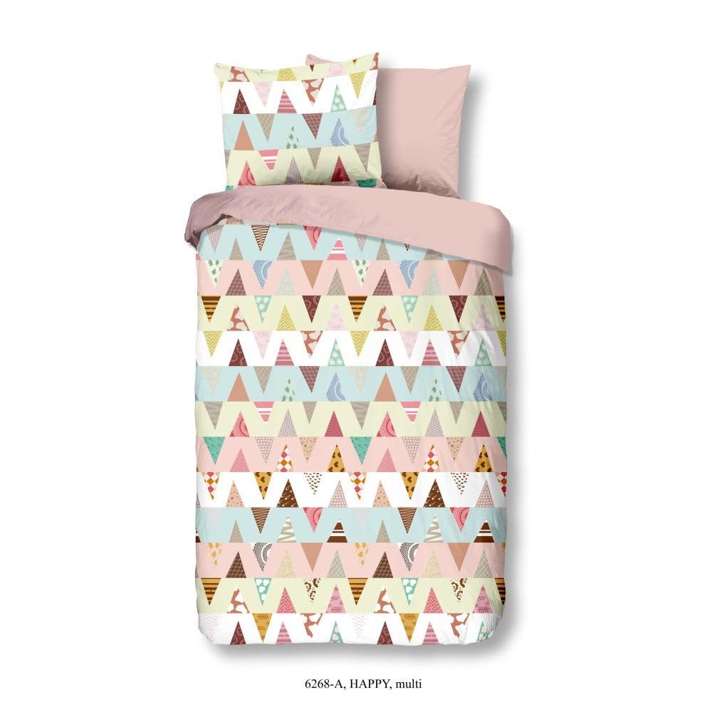 Detské obliečky na jednolôžko z bavlny Good Morning Zinaya, 140 × 200 cm
