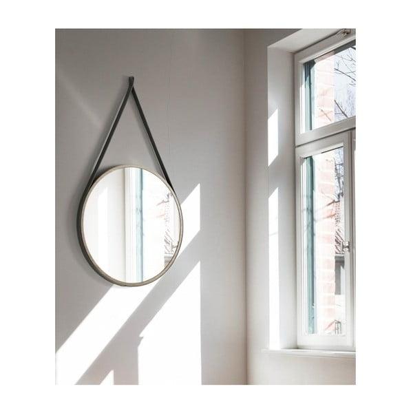 Závesné zrkadlo Ángel Cerdá Boss, ⌀75 cm