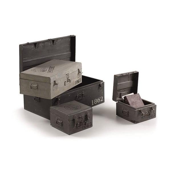 Sada 4 úložných kufrov Notpam