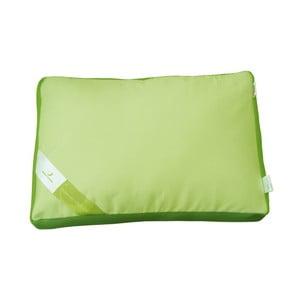 Zelený vankúš s pamäťovou penou Aero Green Future, 50 x 60 cm