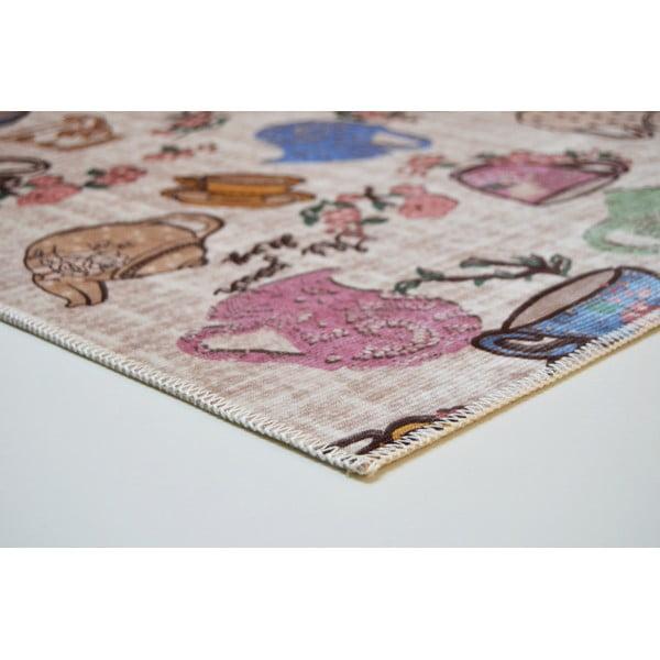 Odolný koberec Vitaus Molly, 80 x 150 cm