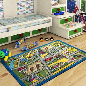 Detský koberec Traffic, 133x190 cm
