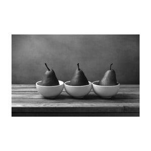Obraz Black&White Pears, 45 x 70 cm