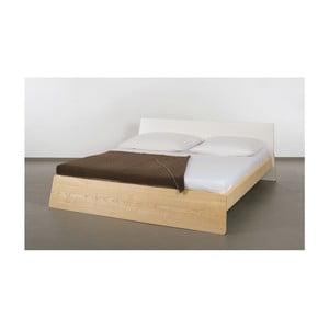 Posteľ z jaseňového dreva Ellenberger design Private Space, 160 x 200 cm