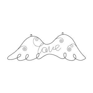 Nástenná dekorácia Aile Love