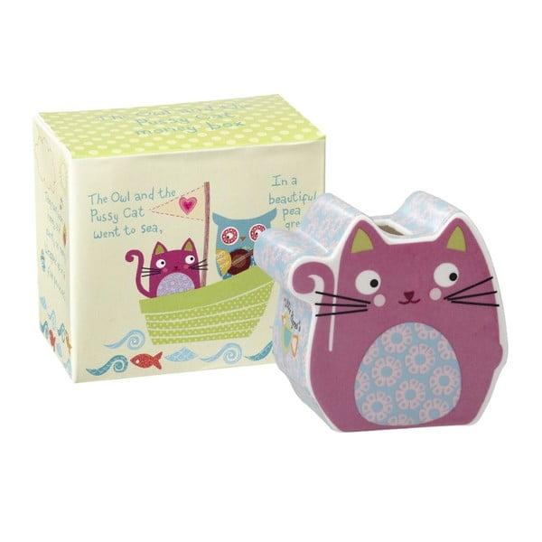 Kasička v darčekovom boxe Cat