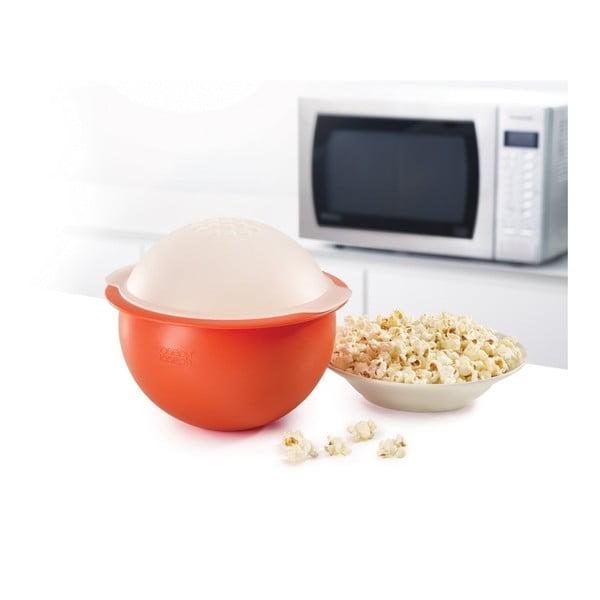 Červená misa na prípravu pukancov Joseph Joseph M-Cuisine Popcorn Maker