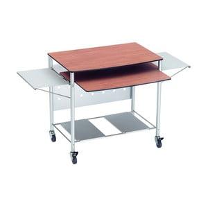 Rozkladací pracovný stôl na kolieskach Valsecchi Mek