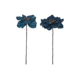 Sada 2 umelých kvetín Anemone, výška 40 cm