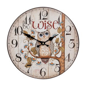 Nástenné hodiny Clayre & Eef Wise