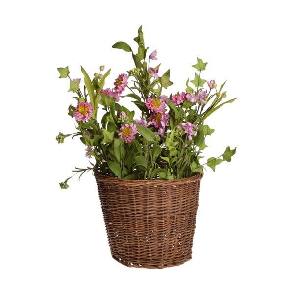Umelý kvet v košíku In Basket
