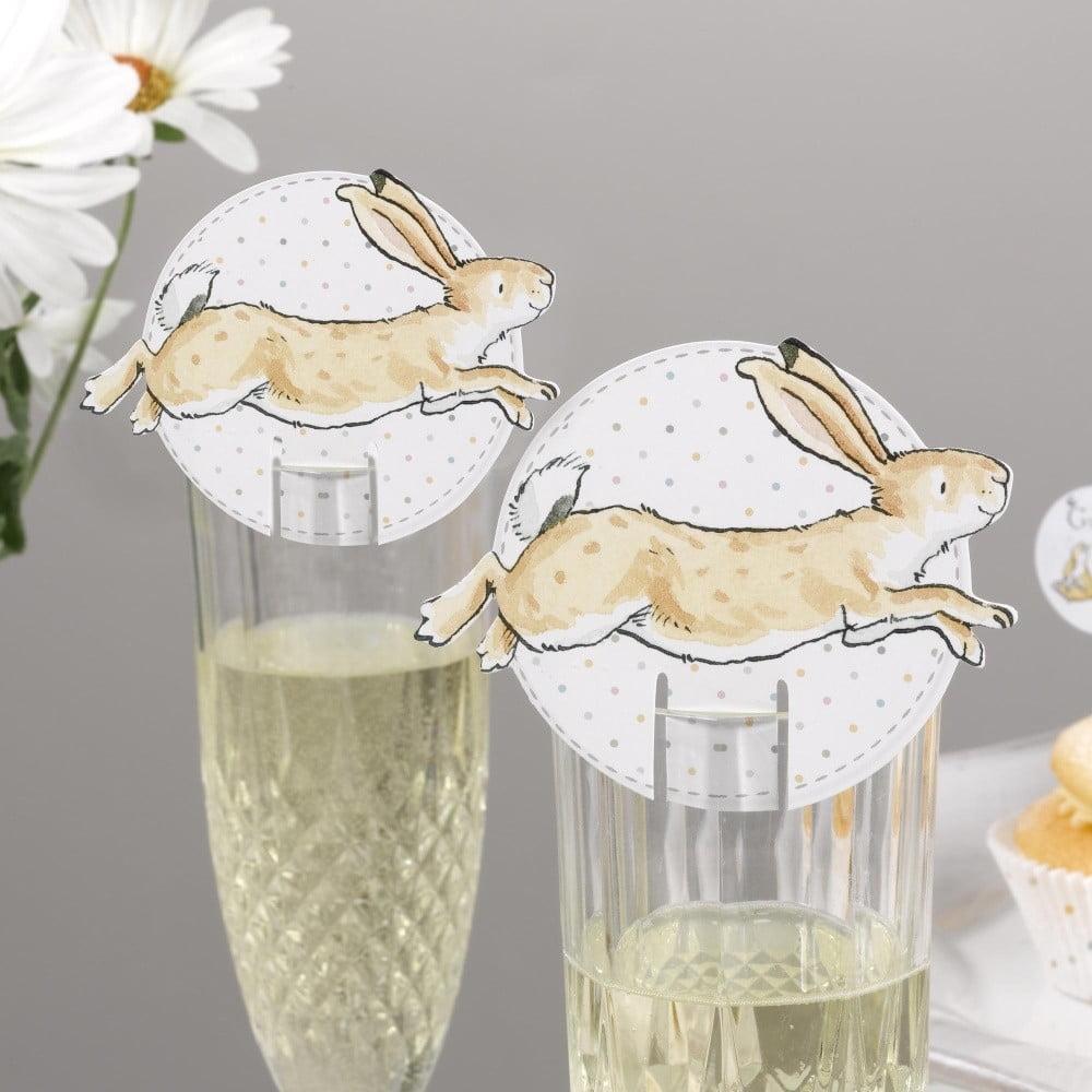 Sada 10 papierových dekorácií na poháre Neviti Guess How Much