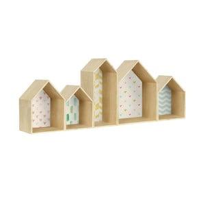 Polica Houses Geometric