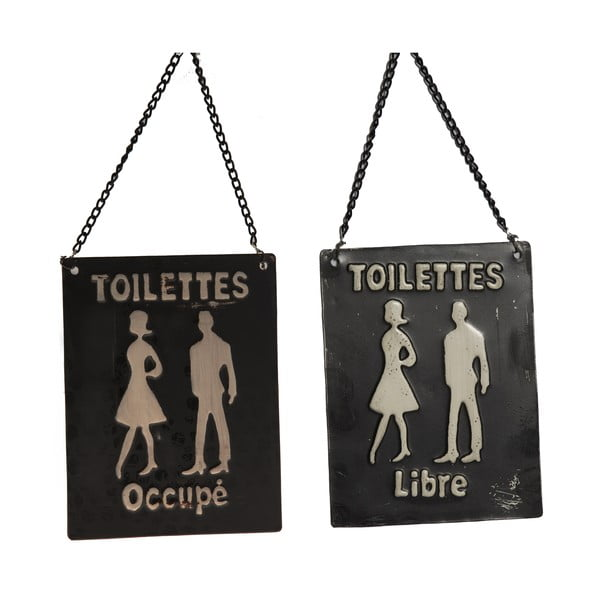 Ceduľka na toaletu Occupé