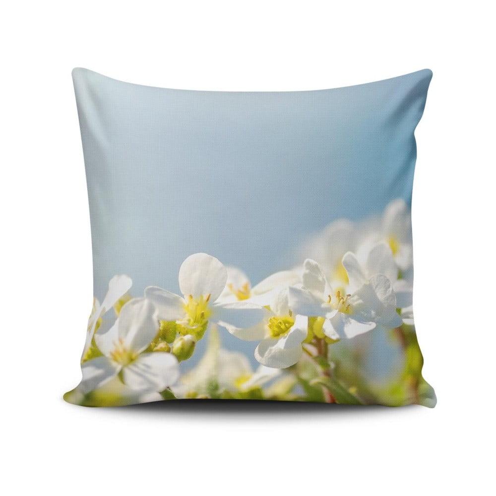Vankúš s prímesou bavlny Cushion Love Nature, 45 × 45 cm