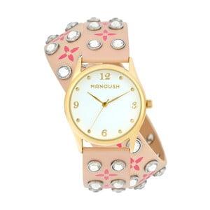 Dámske hodinky s koženým remienkom Manoush Vivienne