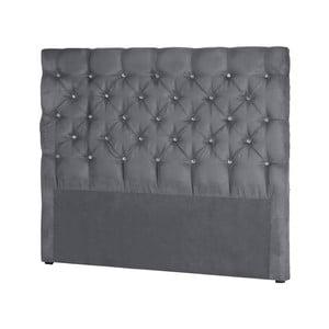 Sivé čelo postele Stella Cadente Maison Pegaz, 140 × 118 cm
