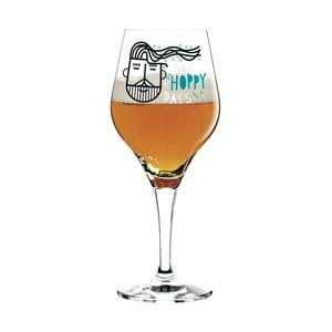 Set pohára na pivo a 5 pivných podložiek Ritzenhoff Hoppy, 560 ml