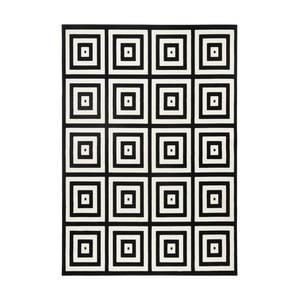 Čierno-sivý koberec Zala Living Duola, 160×230cm