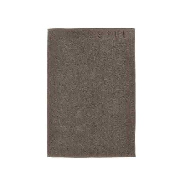 Kúpeľňová predložka Esprit Solid 60x90 cm, hnedá