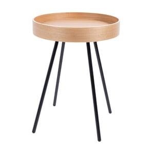 Príručný stolík v zlatej farbe Zuiver Cupid