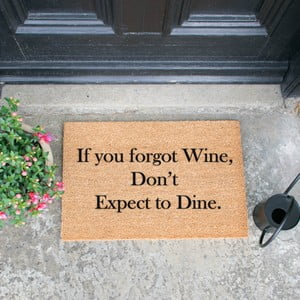 Rohožka Artsy Doormats If You Forgot Wine, 40 × 60 cm